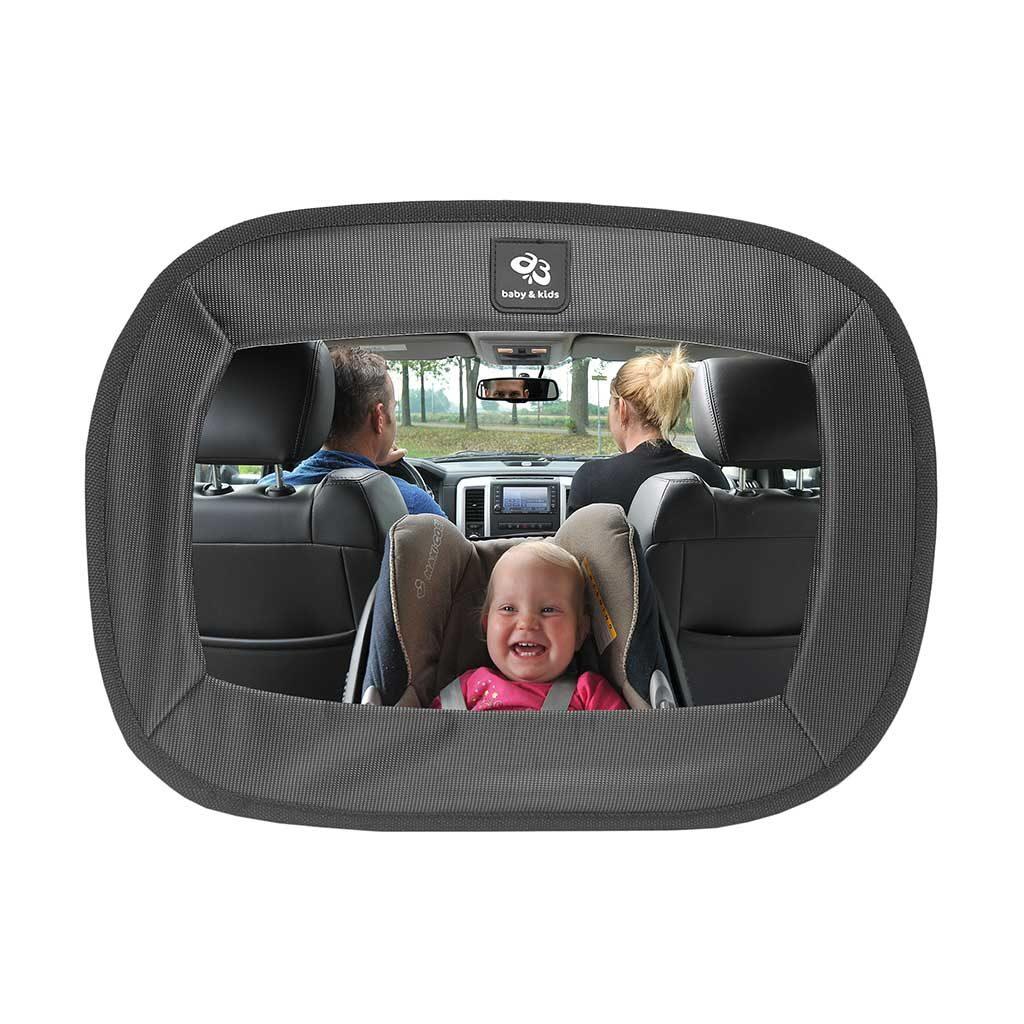 A3 Baby & Kids extra grote autospiegel zwart