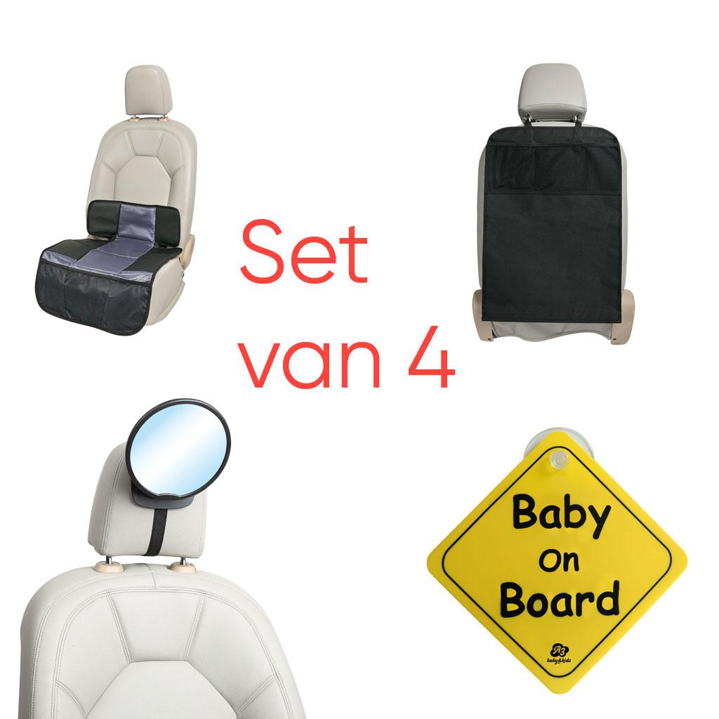 A3 - Combo car set: complete set met baby autoaccessoires