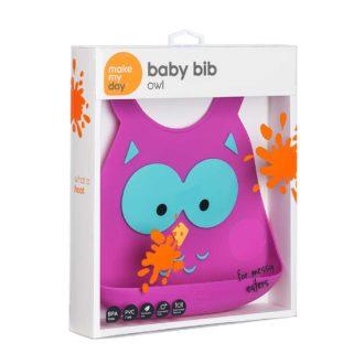 Make my Day- slabber - Owl
