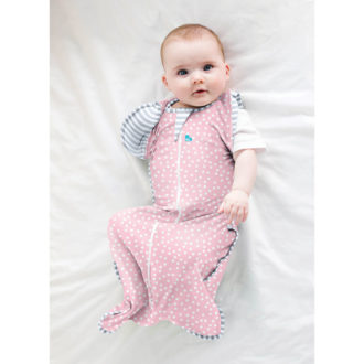 Love to Dream- Swaddle UP Transition Bag Pink Lite