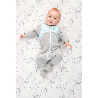 Love to Dream- Swaddle UP Transition Suit blue