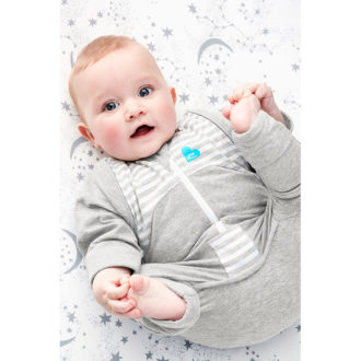 Love to Dream- Swaddle UP Transition Suit grey