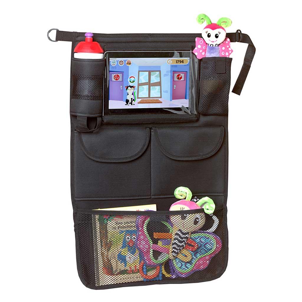 A3 Baby & Kids - autostoel organizer met tablet houder