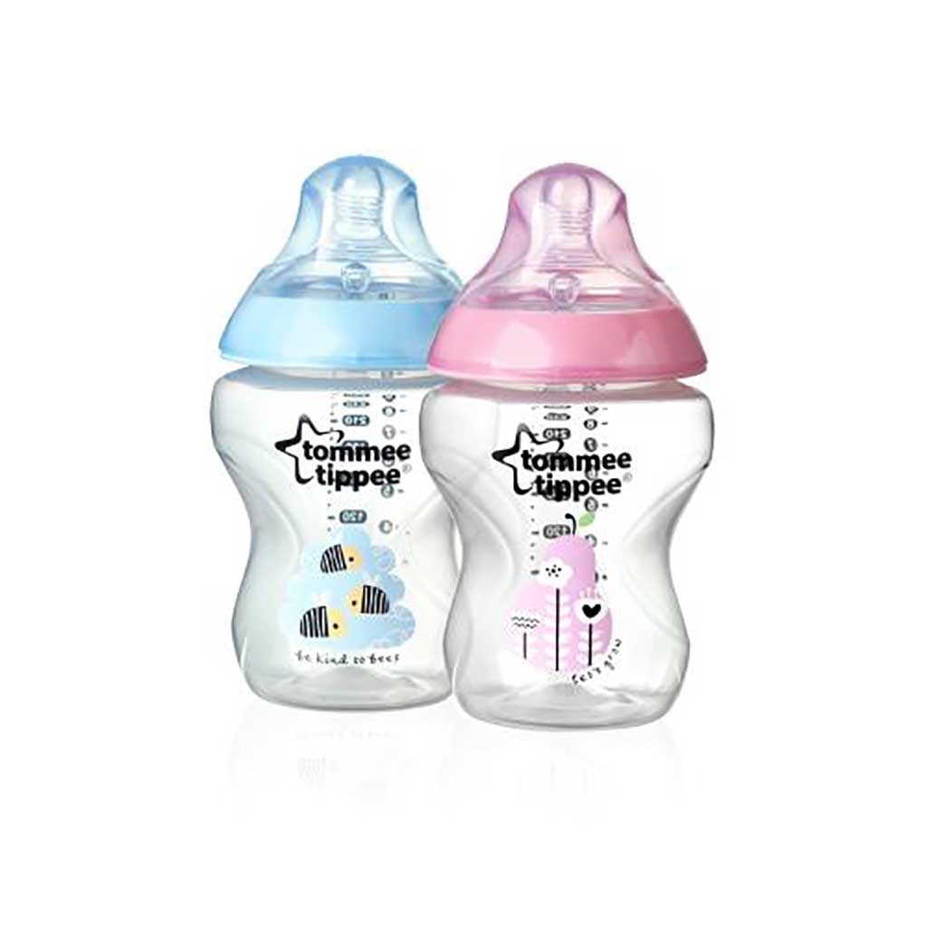 Tommee Tippee- Closer to Nature deco fles 260ml 2 stuks