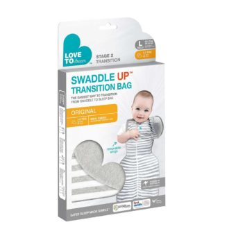 Love to Dream - Swaddle UP Transition Bag Grey