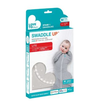 Love To Dream™ Swaddle Up™ LITE 0.2 TOG grijs