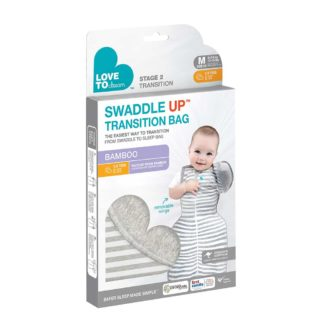 Stage 2 Swaddle UP Transition Bag BAMBOO 1.0 TOG grijs