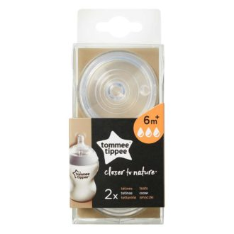 Tommee Tippee Closer to Nature speen 6 mnd+