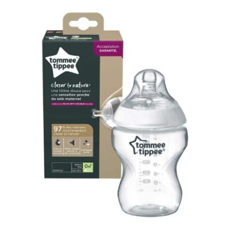 Tommee Tippee Closer to Nature fles 260 ml Bpa vrij