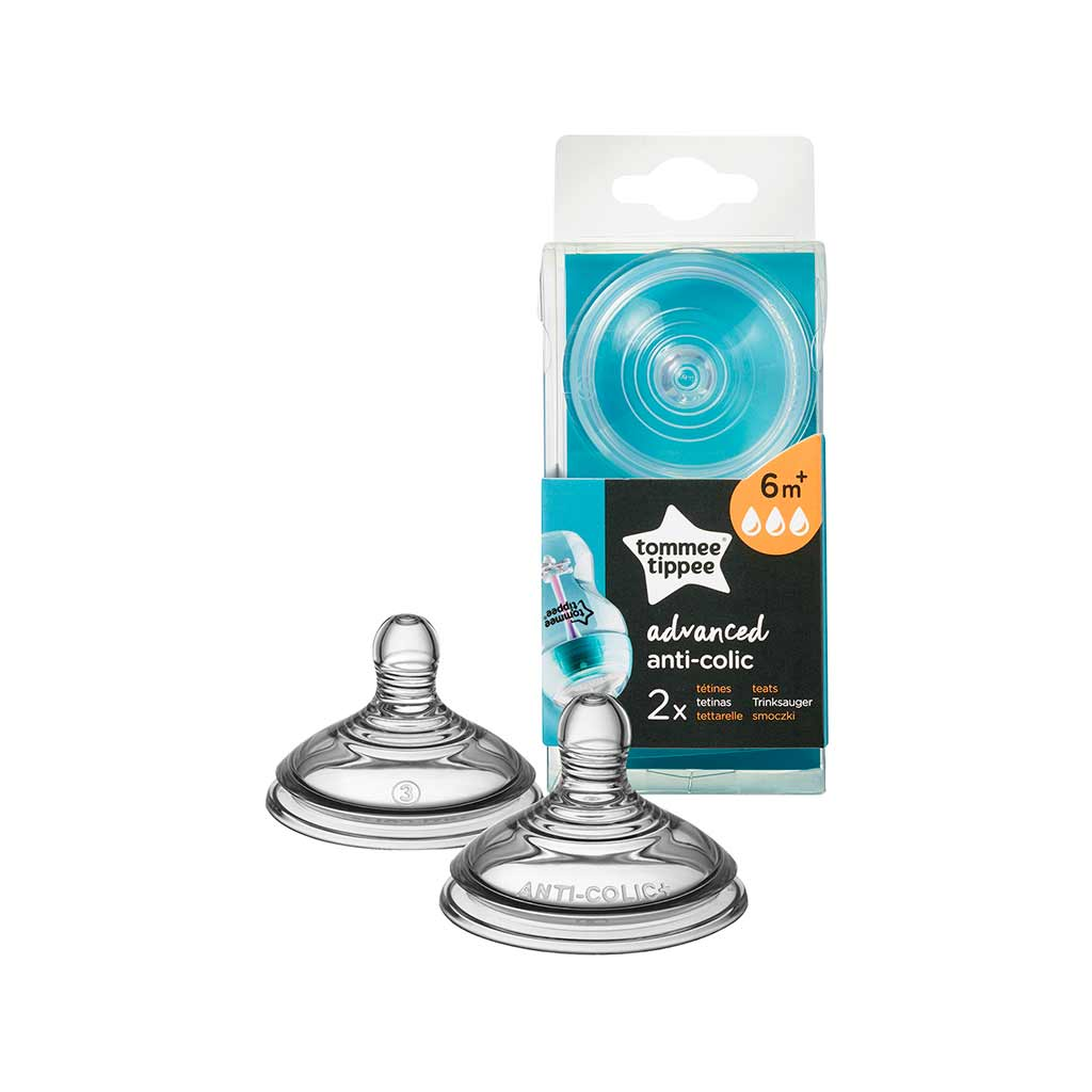 Tommee Tippee Closer to Nature Anti Colic spenen 6 maand+