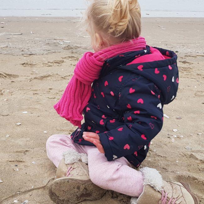 strand een fris nieuwjaar