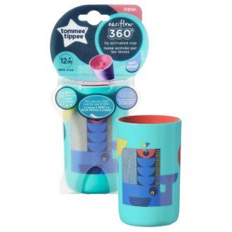 Tommee Tippee 360 Cup  anti lek drinkbeker 12 maand+ (groen)