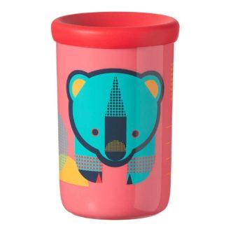 Tommee Tippee 360 Cup  anti lek drinkbeker 12 maand+ (rood)