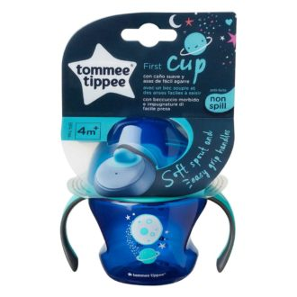 Tommee Tippee First Trainer Cup Boy - Anti lek beker