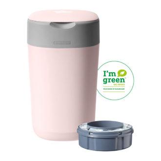 Tommee Tippee Twist & Click luieremmer roze ECO